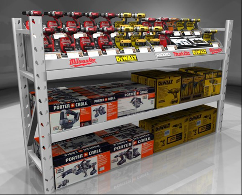 Automotive Wire Display Racks and Solutions: New England Wire Products